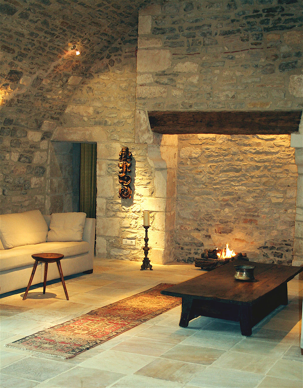 caves living room