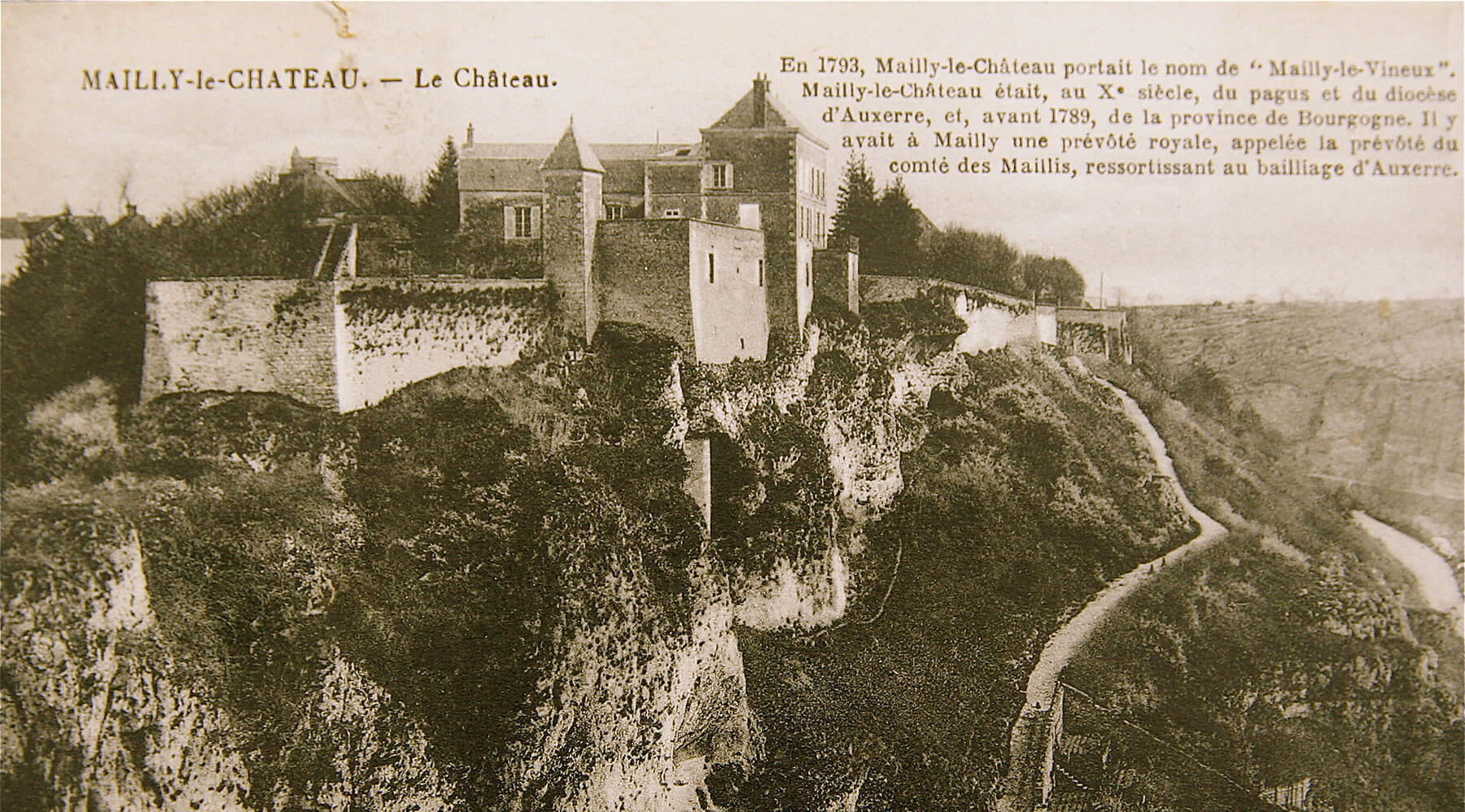 History of Chateau de Mailly